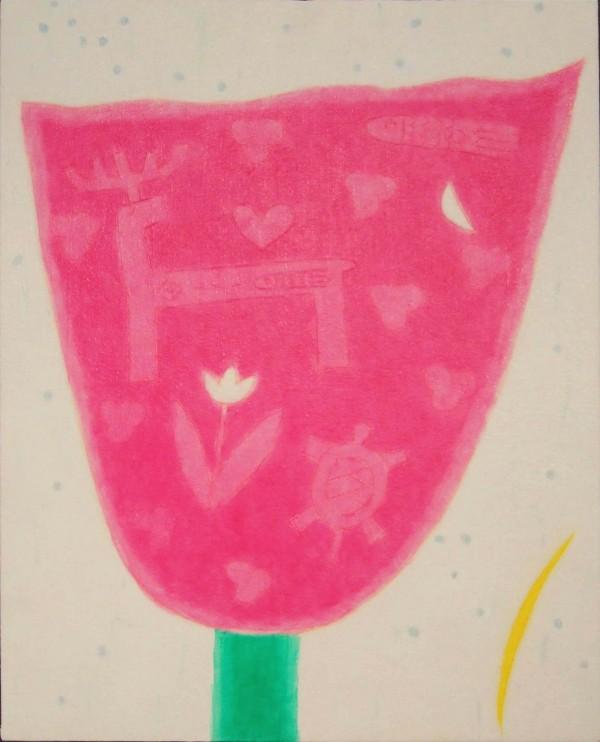 무천(pink) 2009 변형8 33x41 수간채색