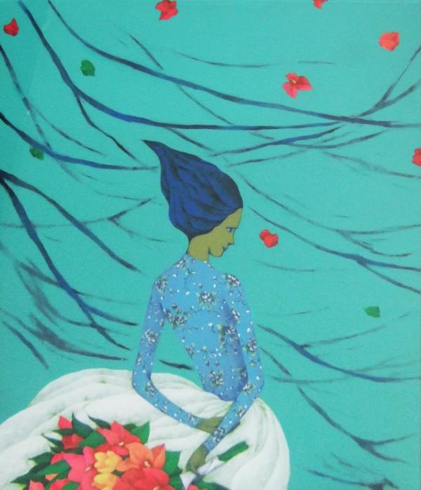 임은희 나쁜꽃밭 2009 45.5X53
