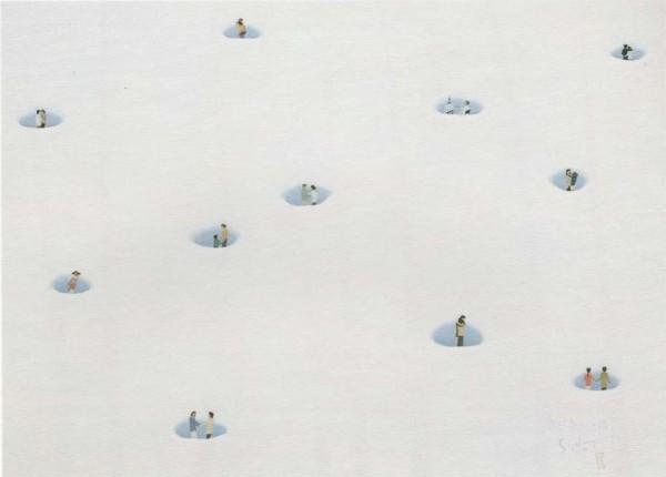 눈이 녹는 이유 2007 P40 72.7x100.0 아크릴