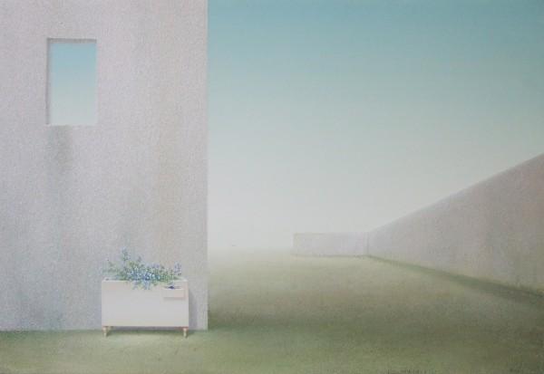 반미령 꿈꾸는 코스모스 2008 M20 72.7x50 Acrylic on Canvas