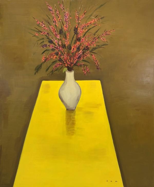 배정혜 안과 밖 60.6x72.7cm Oil on canvas 2018