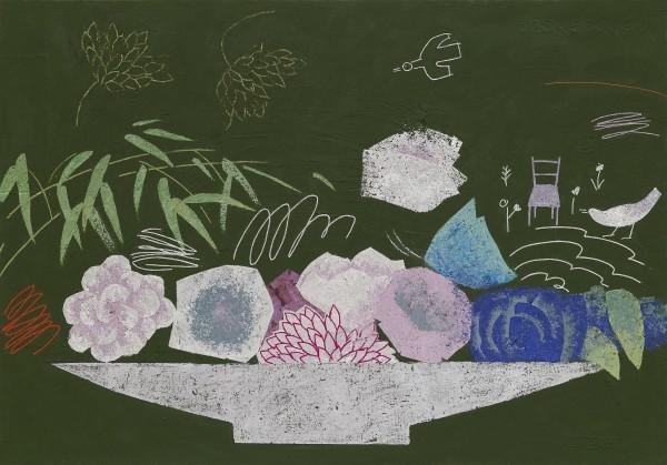 유미선, 시간속의 정물, 71.5x60cm, 2018