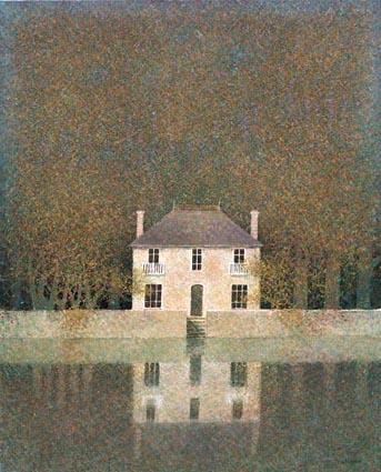 A-Le Manoir Breton 브루타뉴의 영주의 성 70x91_serigraph on canvas