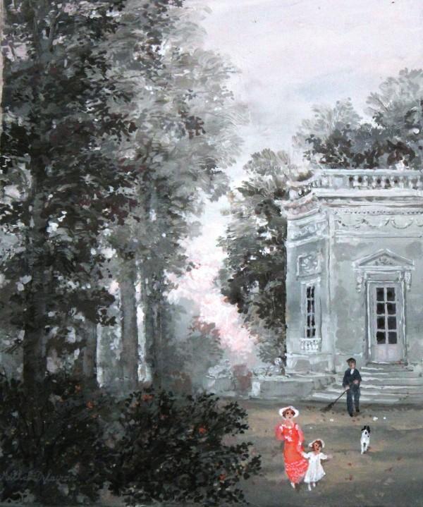 Le Belvedere a Trianon 27x22cm