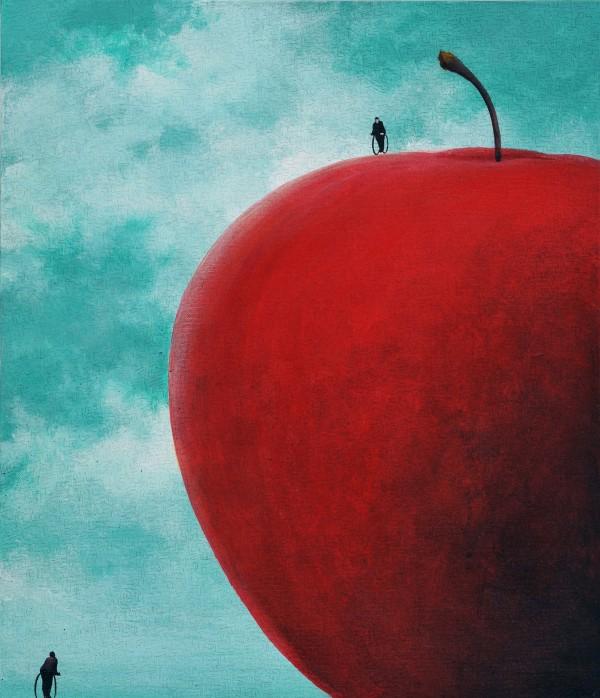 유선태-말과 글2 2012 53x45.5 Acrylic on canvas