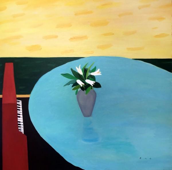 배정헤_2016_80.3x80.3_oil on canvas