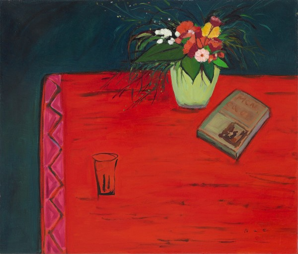 16 red table 53x45.5cm