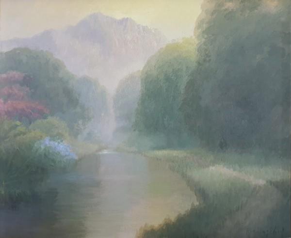 김동철, 자연별곡- 길, Oil on Canvas, 45x38cm, 2020