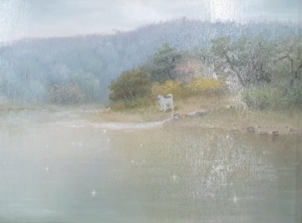 김동철, 자연별곡- 봄, Oil on Canvas, 45x33cm, 2017