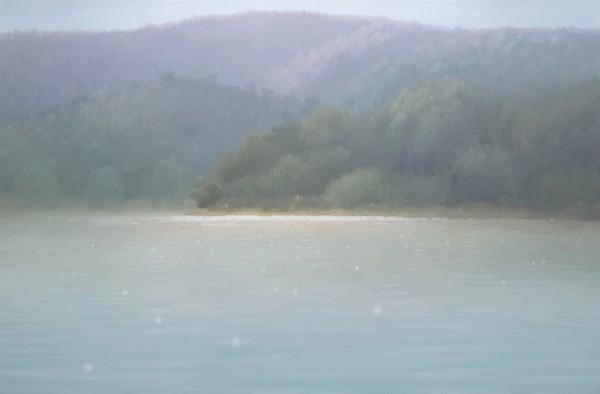 김동철, 자연별곡- 휴식1, Oil on Canvas, 145.5x97cm, 2020
