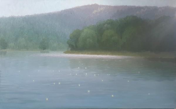 김동철, 자연별곡- 휴식2, Oil on Canvas, 116x73cm, 2020