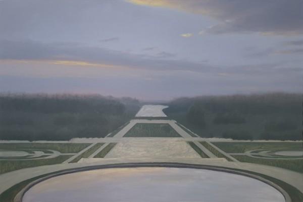 김동철, 자연 - 베르사이유, Oil on Canvas, 145.5x97cm, 2020