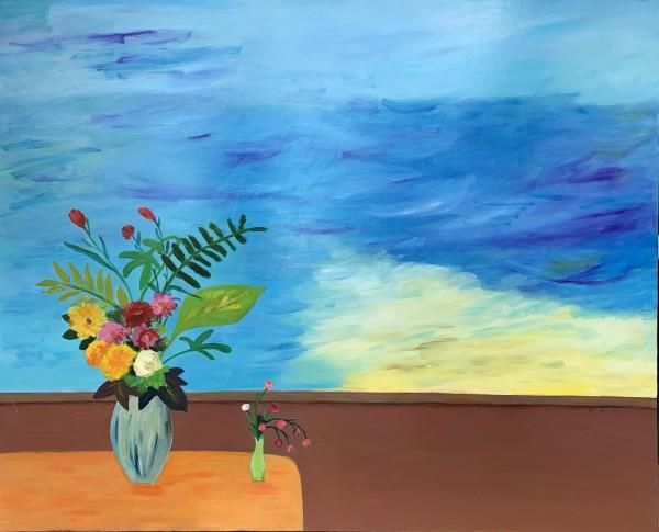 3.배정혜_여름이 오는 소리_90x72.7cm_Oil on canvas_2020